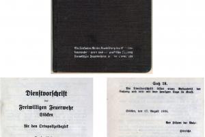 Feuerwehr: Dienstvorschrift und Dreiteilung des Löschangriffs 1935