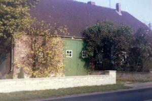 Scheunentor der Stellmacherei um 1969