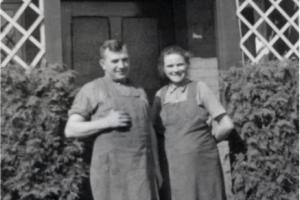 Stellmacher Hermann und Amanda Campe 1938